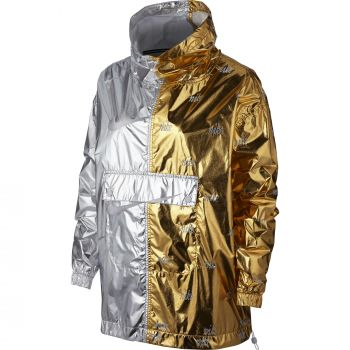 Nike Women's Metallic Jacket, jakna, zlata