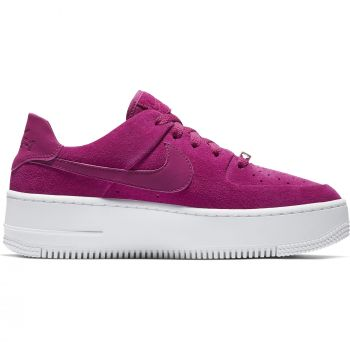 Nike Air Force 1 Sage Low, ženski športni copati, rdeča, AIR FORCE 1